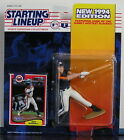 1994 Jeff Bagwell Houston Astros Starting Lineup mint in pkg w/ Baseball card
