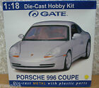 Gateway Porsche 996 Coupe Yellow Car Model Kit Die Cast 118 Scale New in Box