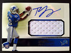 2011 Topps Precision RC Autograph TITUS YOUNG Game Used Lions Jumbo Jersey Auto
