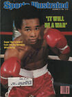 Sugar Ray Leonard Boxing SIGNED Sports Illustrated 11 24 80 COA!