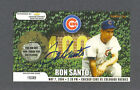 Ron Santo signed Chicago Cubs 2004 Chevy scratch-off game card