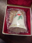 Vintage Noritake Christmas 1972 Dinner Bell Japan 6.02M-ES