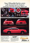 1979 Oldsmobile Starfire Sporty Classic Vintage Advertisement Ad D100