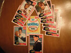 Detroit Tigers 1981 Topps Coca-Cola 12 Cards Morris, Gibson, Trammell, Kemp