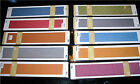 12 Border QuicKutz Embossing Folders Your Choice of 11 Types NEW