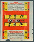 1933 SPORTS KINGS WAX PACK GUM WRAPPER BABE RUTH HOWIE MORENZ CANADIENS MAIL IN