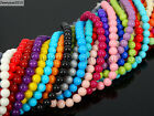 Czech Opaque Coated Glass Pearl Round Beads 16 4mm 6mm 8mm 10mm 12mm 14mm 16mm