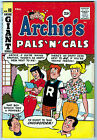 ARCHIES PALS N GALS 10 60 OFF WHITE PAGES SILVER AGE GIANT
