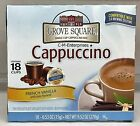 Grove Square French Vanilla Cappuccino Keurig K Cup Cups 18 Ct