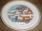 CORELLE 1981 CHRISTMAS LIMITED EDITION DINNER PLATE FREE USA SHIPPING