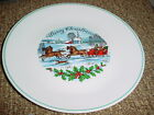 CORELLE 1980 CHRISTMAS LIMITED EDITION DINNER PLATE RARE NO DATE VERSION