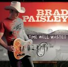 BRAD PAISLEY CD TIME WELL WASTED NEW SEALED