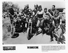 Tough bust motorcyle Babe VINTAGE Photo Danger Zone 1987
