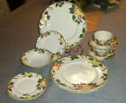 11pcs Johnson Brothers PEACHBLOOM  Dinnerware Plates Bowl Cups Saucer
