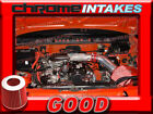 RED NEW 89 90 91 92 93 94 GEO TRACKER SUZUKI SIDEKICK 16 16L AIR INTAKE KIT
