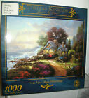CEACO 1000 PC JIGSAW PUZZLE A NEW DAY DAWNING THOMAS KINKADE FREE USA SHIPPING