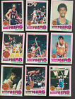 1977 78 Topps Team SET Lot of 9 Philadelphia 76ERS NM MT ERVING DAWKINS (R)