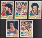1977 78 Topps Team SET Lot of 5 New Orleans Utah JAZZ NM MT MARAVICH Truck