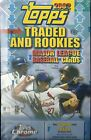2002 Topps Traded & Rookies Baseball Factory Sealed Hobby Box w Chrome Cards