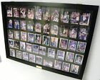 Wallmount Card DIsplay Case for 50 Ungraded Cards P306B Black