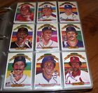 1982 Donruss Baseball Complete Set Binder CAL RIPKEN RC