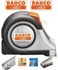 BAHCO 8m/26ft cm/inch Stainless Steel Blade With Magnet Tip Tape Measure,MTS825E