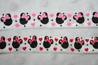 4 yds Pink Red White Minnie Mouse foldover fold over elastic FOE hair ties 5 8