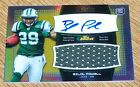 LOT OF 3 2011 TOPPS FINEST GOLD REFRACTOR BILAL POWELL AUTO JERSEY #d 25 JETS