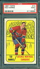 1967 68 TOPPS #10 TED HARRIS PSA 9 MINT!! CANADIENS
