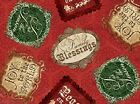 VIP Homespun Holiday by Christine Adolph 45733 R Red Signs FREE US SHIP