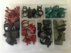 Fits Chrysler 54 Vacuum Fuel Hose Pinch Spring Clip Clamp Pack Clamps Clips NOS