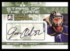 2009 ITG JONATHAN QUICK BETWEEN THE PIPES STARS OF GAME AUTOGRAPH AUTO L A KINGS
