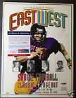 GINO TORRETTA Signed East West Football Program Auto PSA DNA Certified Autograph
