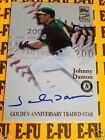 2001 Topps Traded Star JOHNNY DAMON Autograph # TTA-JD Certified A's Auto
