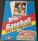 1992 TOPPS Factory Sealed New Unopened Wax Box 36 Packs Manny Ramirez RC THOME