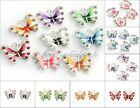 5 10pcs Enamel Animal Butterfly Pendant Charms Jewelry Making Findings