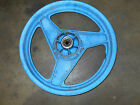 Honda vtr250 interceptor vtr 250 rear back rim wheel blue 1989 88 1988 89