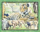 Springs It's Zoological Wallhanging Panel  Cotton Fabric BTY FREE US SHIP