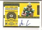 Alex Green 2011 Playoff Contenders No Logo Variation SP 100 Packers Auto RC