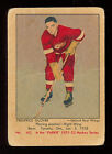 1951 52 PARKHURST HOCKEY #60 FRED GLOVER VG ROOKIE DETROIT RED WINGS RC