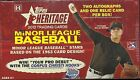 2012 Topps Heritage Minor League Factory Sealed Hobby Box Dylan Bundy ???