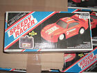 80's VINTAGE TOY BATTERY OPERATED SPEEDY RACER PORSCHE 959 R/C 1:20 MIB