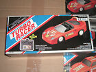 80's VINTAGE TOY BATTERY OPERATED TURBO RACER FERRARI F-40 R/C 1:20 MIB