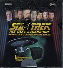 Star Trek The Next Generation Heroes and Villains Trading Card Box MINT ST TNG