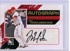 Will Middlebrooks 2011 ITG Heroes & Prospects GOLD Parallel AUTO ROOKIE SP 10