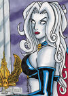 2012 5finity Lady Death Sketch Card Series 2 Trading Cards 17