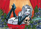 2012 5finity Lady Death Sketch Card Series 2 Trading Cards 4