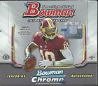2013 Bowman Factory Sealed Football Hobby Box 4 AUTOGRAPHS & 1 RELIC PER BOX