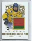 2013 DRAFT PROSPECTS ROBERT HAGG GAME USED JERSEY GOLD 10 (#M-24)