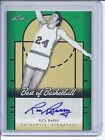 2013 Leaf Best of Basketball Rick Barry Auto 12 25 Beautiful Auto